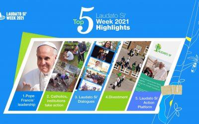 Top 5 Laudato Si' Week 2021 highlights